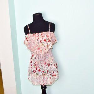 NWT Victoria's Secret Flowy Floral Print Blouse